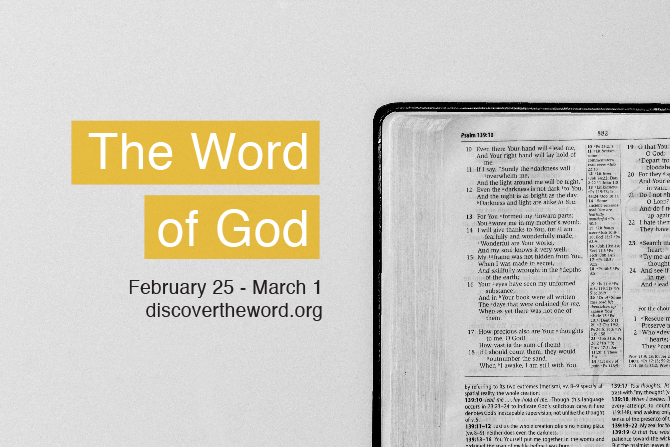 "Going Back To The Basics - ""The Word Of God"""